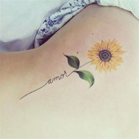 sunflower tattoo tattoos tattoos sunflower tattoos amor tattoo