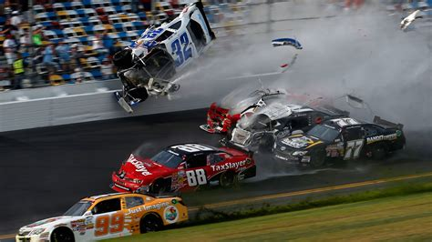 One Hell Of A Photo From Yesterday's Nascar Crash That