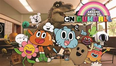 Gumball Amazing Cartoon Network Series Studios Season