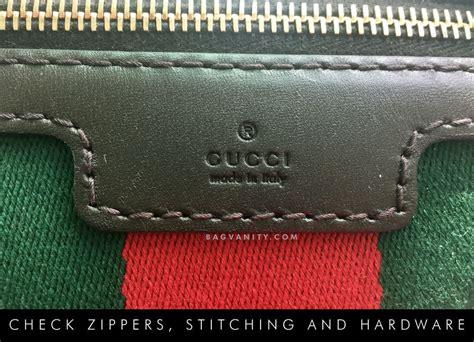 gucci authenticity check  ways  spot  fake gucci bag