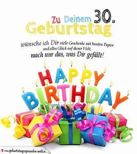 30 Dinge Zum 30 Geburtstag : geburtstagskarten zum ausdrucken 30 geburtstag geburtstagsspr che welt ~ Bigdaddyawards.com Haus und Dekorationen
