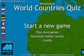 Free line Geography Game World Locations