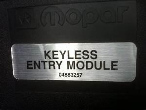 Oem Mopar Keyless Entry Module