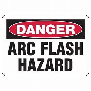 arc flash signs danger arc flash hazard osha seton With arc flash sign
