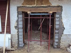 Aide à la création d'un ouverture extérieure dans un mur en pisé Denis Villalba Multi services