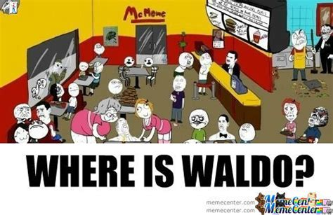 Waldo Meme - where s waldo by beelzebub meme center