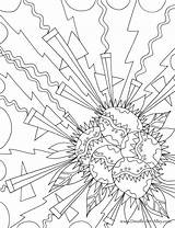 Explosion Coloring Pages Adult Bomb Colouring Bath Printable Geometric Books Sheets Pattern Clear Background Designs Designlooter Drawings Inside 959px 3kb sketch template