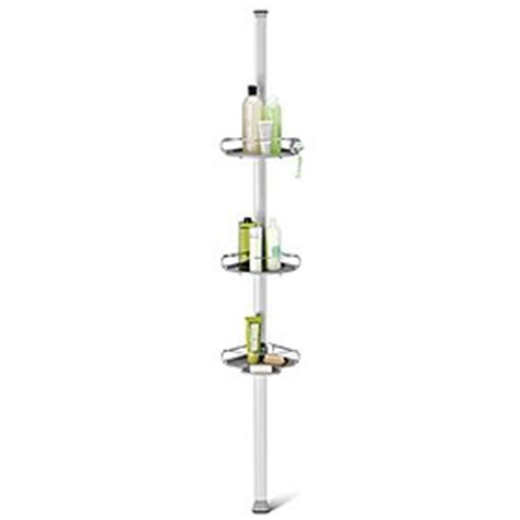 Simplehuman Tension Shower Caddy by Simplehuman Adjustable Tension Shower Caddy With Plastic