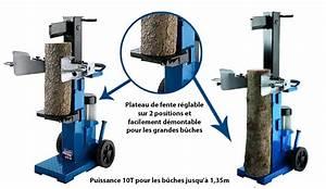 Fendeur De Buche Electrique Brico Depot : fendeur de b ches vertical 10t woodstar hl1010 ~ Dailycaller-alerts.com Idées de Décoration