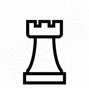 IconExperience » I-Collection » Chess Piece Rook Icon