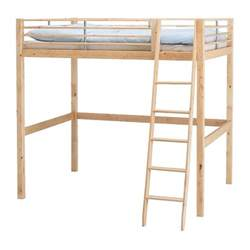 stora loft bed frame color picture to pin on pinterest