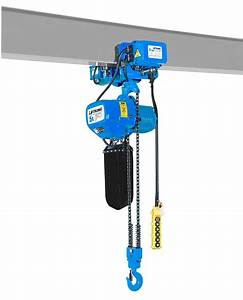 China 5t Overhead Crane Usage Electrci Chain Hoist With