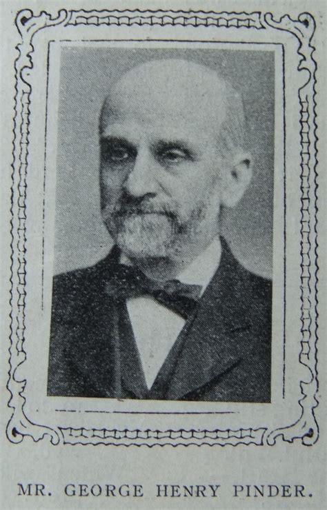 Pinder, George Henry (1851-1917)   Surnames beginning with ...