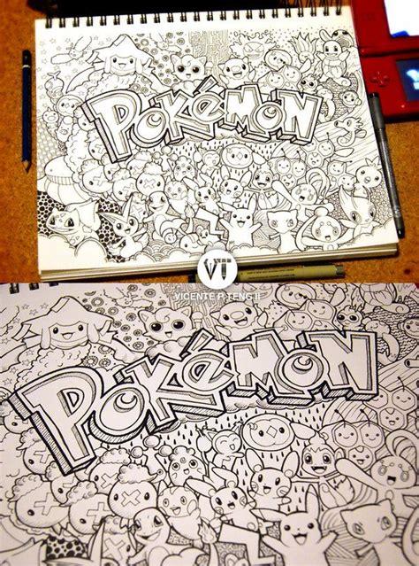 doodle pokemon  vicentetengdeviantartcom