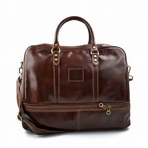 Leder Reisetasche Damen : leder reisetasche sporttasche braun damen herren ~ Watch28wear.com Haus und Dekorationen