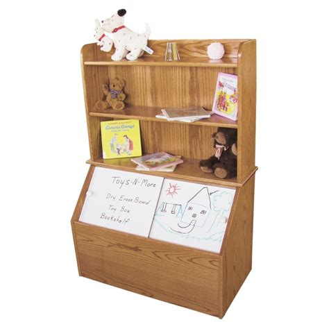 Toybox Bookshelf by Box With Bookshelf Amish Made Country Furniture