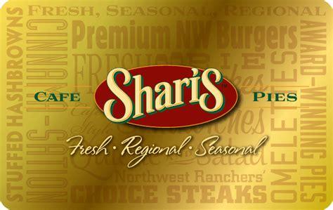 Sharis Cafe Pies  Ee  Gift Ee    Ee  Card Ee