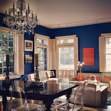 blue orange living room pin by amy brock on house pinterest