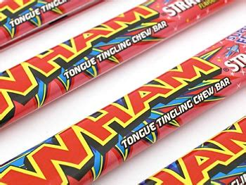 wham ingredients strawberry wham bars sweets from the uks original