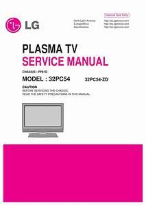 Manual De Srevi U00e7o Televisor Marca Lg Modelo 32pc54