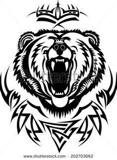 Grizzly Bear Clip Art   grizzly bear head vector – Item 3   bears of all kinds   Pinterest