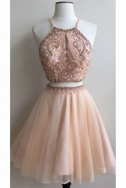 Homecoming Piece Short Cheap Millybridal Dresses