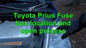 Toyota Prius Fuse Box Location And Open Process  Years