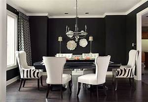 How, To, Use, Black, To, Create, A, Stunning, Refined, Dining, Room
