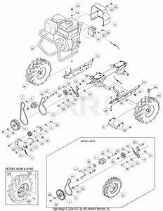 Troy Bilt Super Bronco Drive Belt Diagram