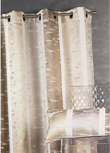 Rideaux Rayures Verticales : rideau en jacquard design rayures verticales bordeaux gris homemaison vente en ligne ~ Teatrodelosmanantiales.com Idées de Décoration