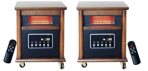 decor infrared electric stove medium room lifesmart zone heating pack includes 2 medium to large