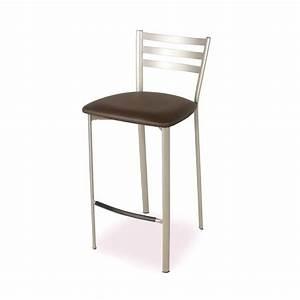 Tabouret En Metal : tabouret snack en m tal 1329 4 pieds tables chaises ~ Teatrodelosmanantiales.com Idées de Décoration
