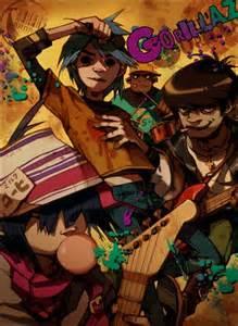 Noodle Gorillaz Band