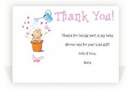 How To Write Thank You Cards For Baby Shower by Baby Shower Thank You Notes Tips And Wording Ideas