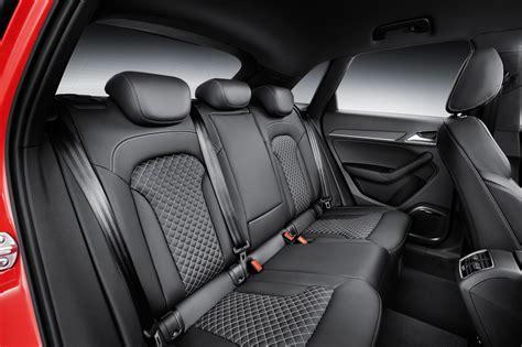 audi rs  facelift rear seat