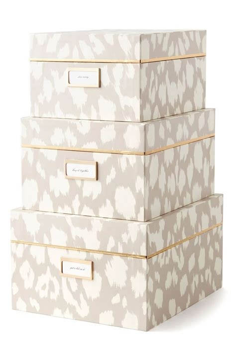 Decorative Storage Boxes For Files