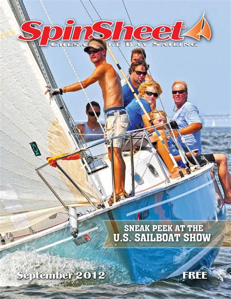 Annapolis Sailboat Show Discount by Spinsheet September 2012 By Spinsheet Publishing Company