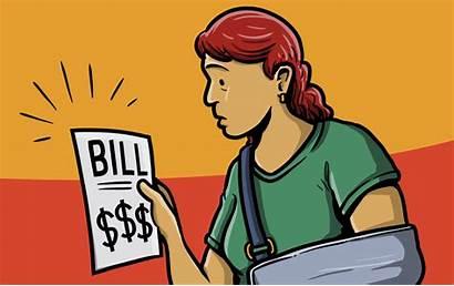 Clipart Bill Hospital Bills Billing Surprise Medical