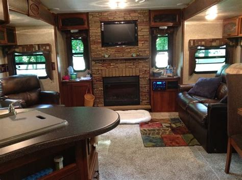 luxury fifth wheel rv front living room 800 best images about pimp my r v on rv