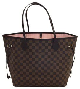louis vuitton neverfull bag lv neverfulls      tradesy