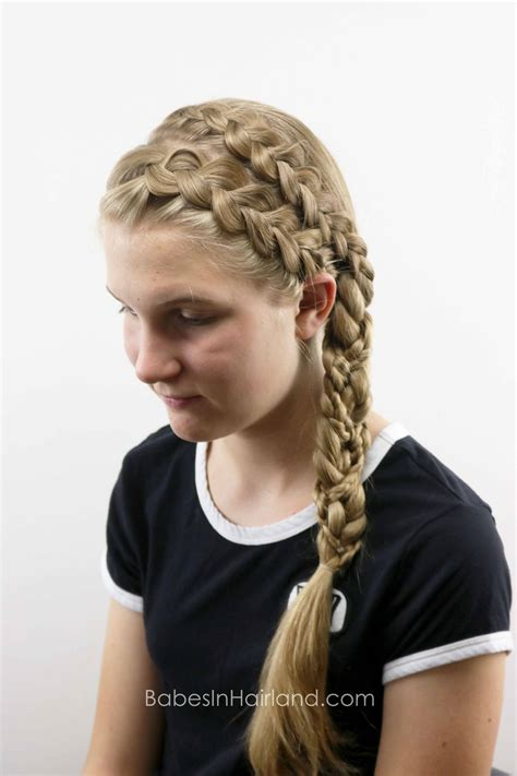 double dutch braided braid babes  hairland