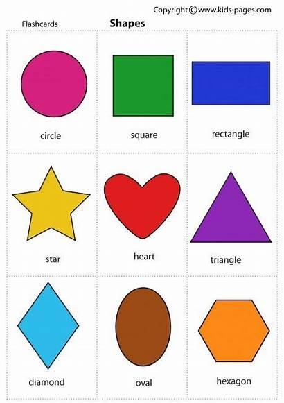Preschool Shapes Printable Colors Worksheets Pdf Learning