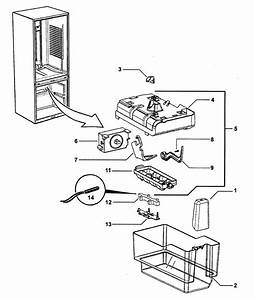 Ice Maker Diagram  U0026 Parts List For Model Rf201adux22302a Fisherpaykel