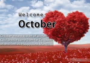 Happy New Month October Quotes