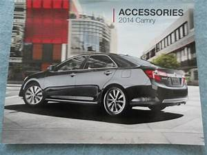 2014 Toyota Camry Accessories Guide Owners Manual Supplement