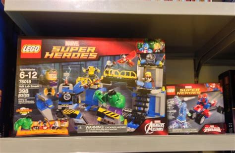 lego marvel 2014 sets finally released photos marvel
