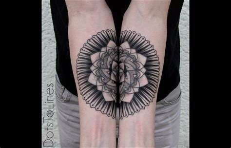 tatouage mandala significations  modeles