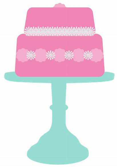 Cake Clipart Stand Transparent Bake Cliparts Flyers