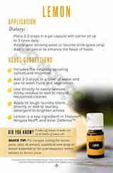 Young Living Lemon Oil Pictures