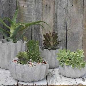 Zement Zum Basteln : beton basteln diy blument pfe aus beton 12 tolle ~ Lizthompson.info Haus und Dekorationen